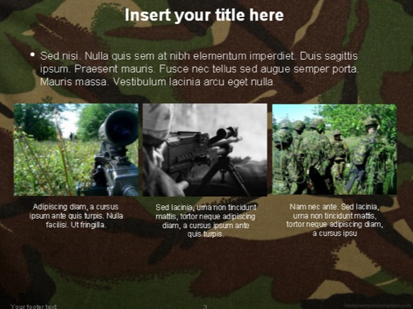 Military powerpoint template free 1 toneelgroepblik Image collections