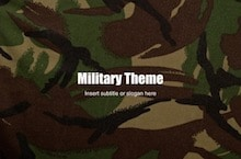 Military PowerPoint Template - Military