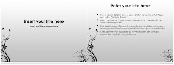 024 Neutral Powerpoint Background - Neutral Gray