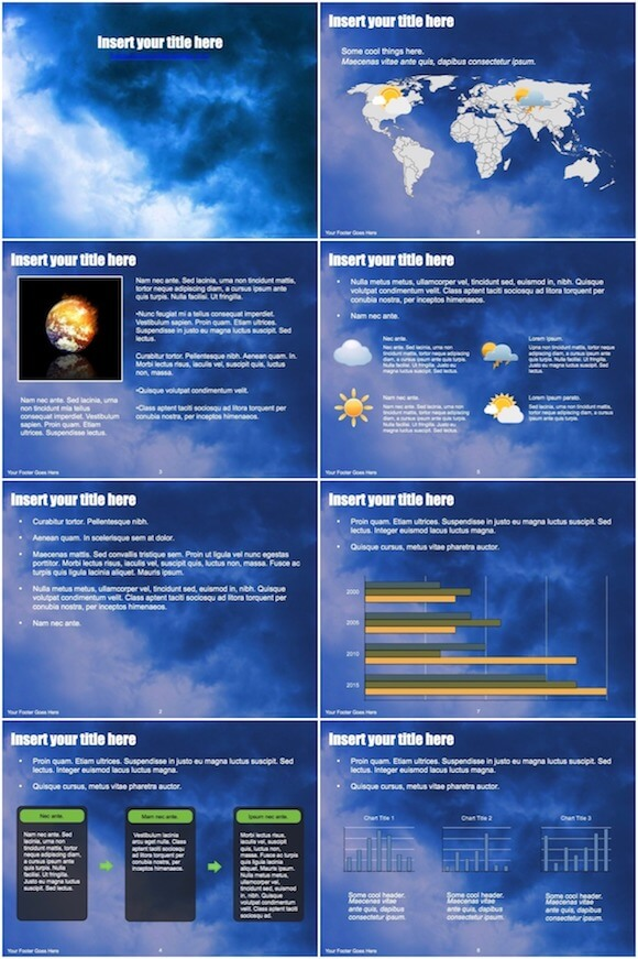 057 Weather Powerpoint Template - Weather