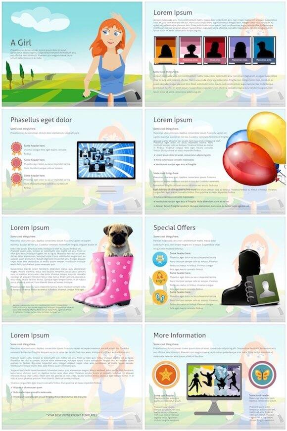 070 Girl PowerPoint - Girl