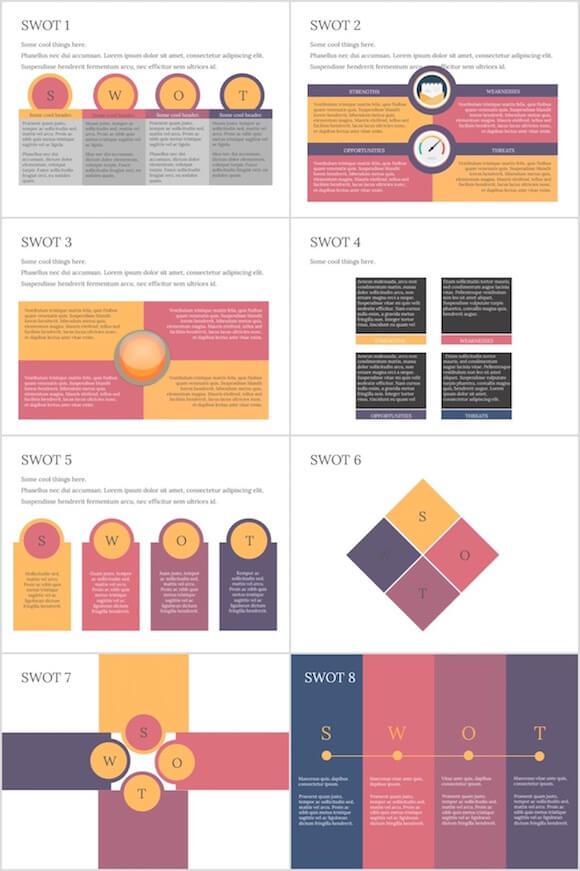 098 PowerPoint SWOT - SWOT
