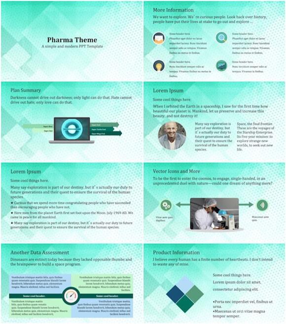 197 Pharma PowerPoint Template - Pharma