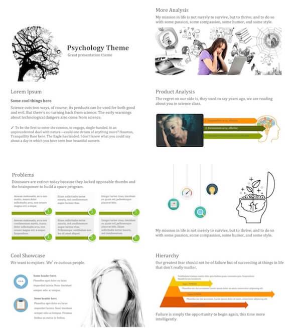 281 Psychology PowerPoint Template - Psychology