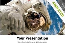 Astronaut Powerpoint Template 22 - Astronaut