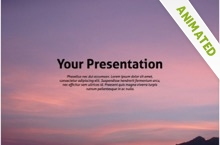 Far Far Away Powerpoint Template 12 - Horizon