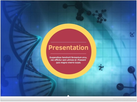 microbiology powerpoint template 2