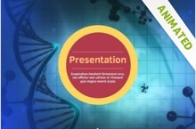 Microbiology Powerpoint Template 22 - Microbiology
