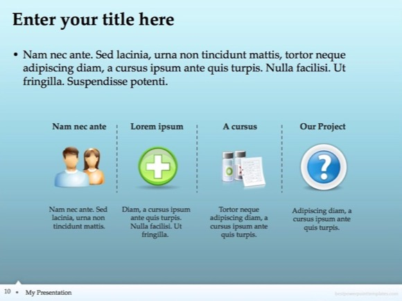 nursing powerpoint template free