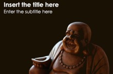 Buddhism Powerpoint Template - Buddhism