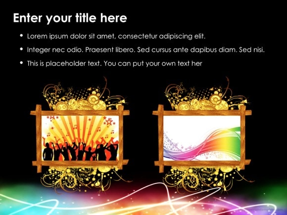 celebration powerpoint template