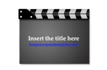 Cinema Film Powerpoint Template - Film Strip