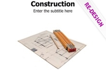 Construction Powerpoint Template 2 - Construction Project