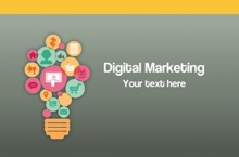 Digital Marketing PowerPoint Template - Marketing