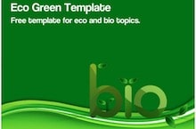 Eco Green PowerPoint Template - Eco Green