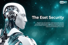 Eset PowerPoint Template featured - Eset Security