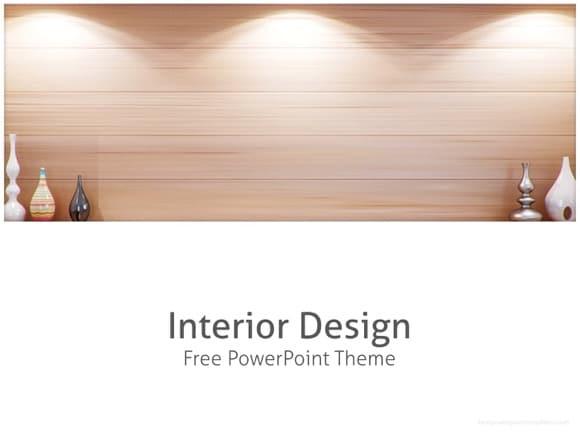 Interior design powerpoint template free 1 toneelgroepblik Image collections