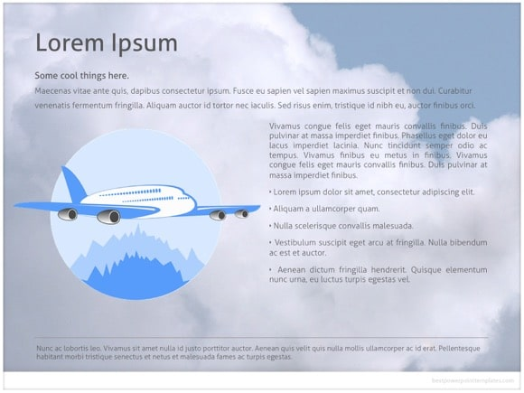 Airline powerpoint template free airline powerpoint templates toneelgroepblik Image collections