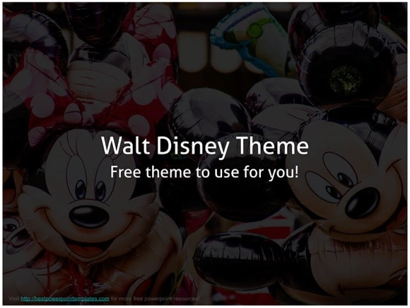 Disney powerpoint template free disney powerpoint templates toneelgroepblik Gallery