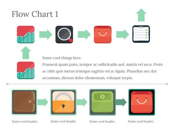 PowerPoint Flowchart 5 1 - Most Popular 2019