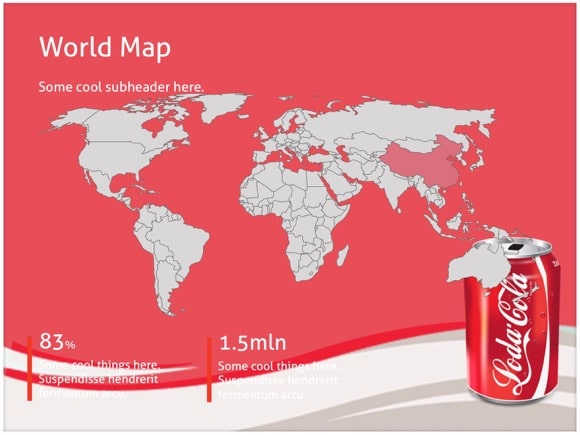 Free Coca Cola Powerpoint Template