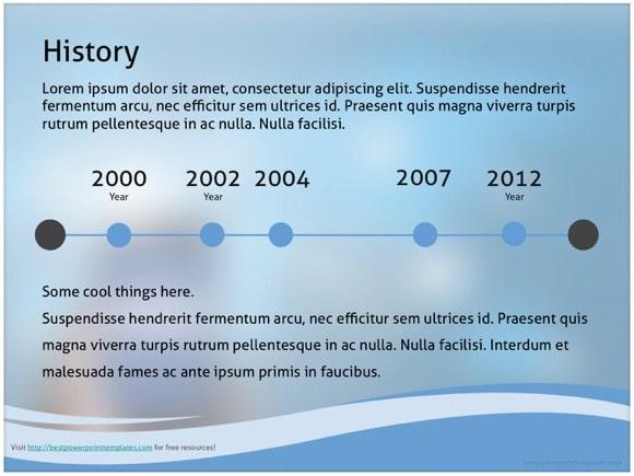 facebook powerpoint template - free!, Modern powerpoint