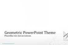 Geometric PowerPoint Template