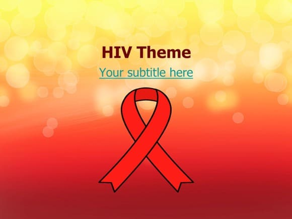 Hiv aids powerpoint template free hiv aids powerpoint templates toneelgroepblik Gallery