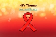 HIV PowerPoint Template - HIV-AIDS