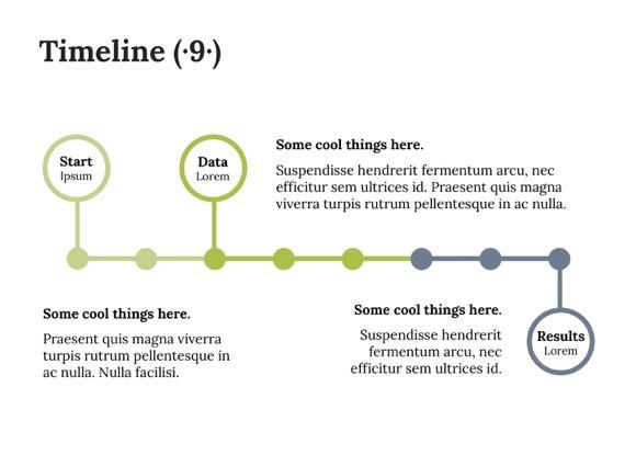 Keynote Timeline Template 8 - Most Popular 2019