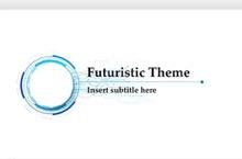Futuristic PowerPoint Template