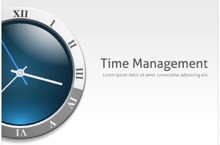 Time Management PowerPoint Template - Time Management