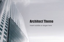 Architect PowerPoint Template - Modern Architecture