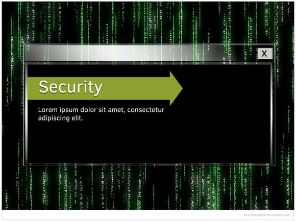 Computer security powerpoint template free computer security powerpoint templates toneelgroepblik Image collections