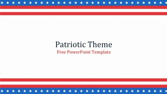 Patriotic powerpoint template free patriotic powerpoint templates toneelgroepblik Images