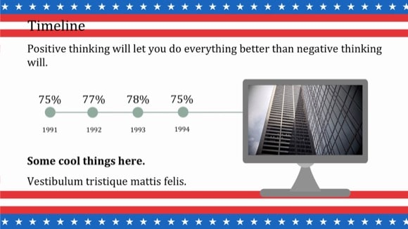 Patriotic PowerPoint Template 10 - Most Popular 2019