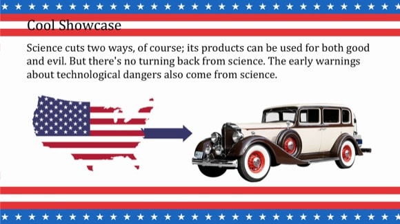 Patriotic PowerPoint Template 5 - Most Popular 2019