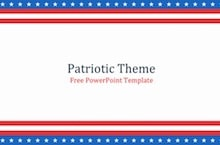 Patriotic PowerPoint Template - Patriotic