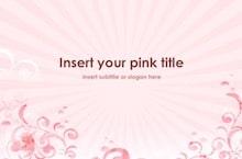 Pink Keynote Template - Pink