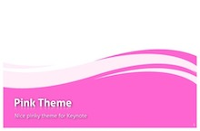 Pink PowerPoint Template - Purple Pink