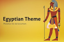 Egyptian PowerPoint Template FF - Egyptian