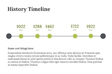 History Timeline PowerPoint Template FF - History Timeline
