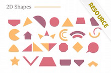 PowerPoint 2D Shapes - 2D Shapes
