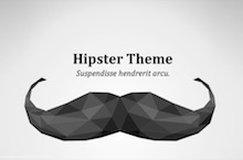 Hipster PowerPoint Template FF - Hipster