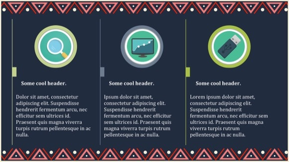 Native American PowerPoint Template 7 - Most Popular 2019