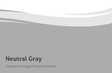 Gray PowerPoint Template FF - Neutral