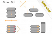 PowerPoint Server Shapes - Server Shapes