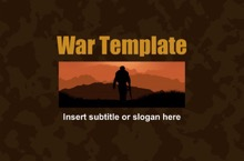 War PowerPoint Template - War