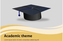 Academic PowerPoint Template FF - Graduate