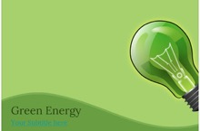Green Energy PowerPoint Template 11 - Green Energy